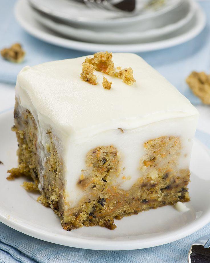 Easy Healthy Carrot Cake Recipe  Best 20 Carrot poke cakes ideas on Pinterest