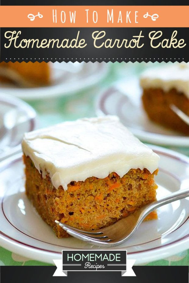Easy Healthy Carrot Cake Recipe  1000 ideas about Simple Carrot Cake Recipe on Pinterest
