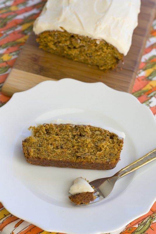 Easy Healthy Carrot Cake Recipe  Easy Carrot Cake Loaf • Food Folks and Fun