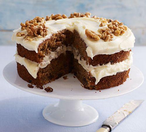 Easy Healthy Carrot Cake Recipe  Easy carrot cake recipe