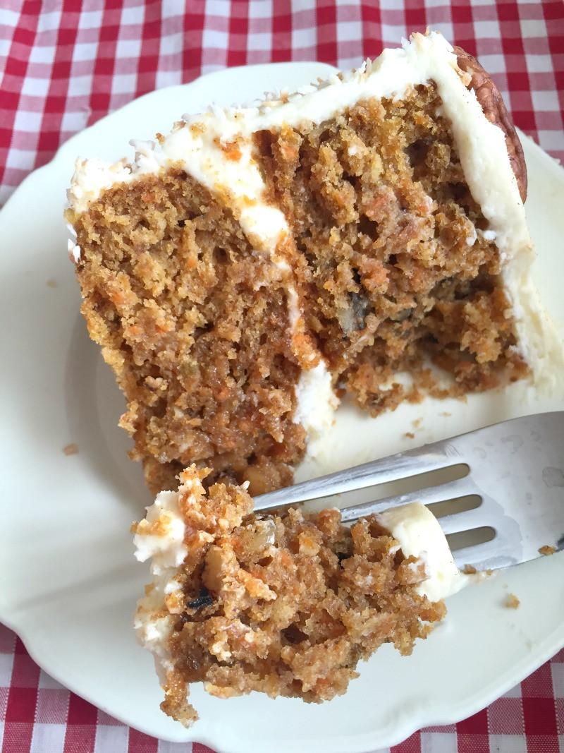 Easy Healthy Carrot Cake Recipe  Easy Homemade Carrot Cake