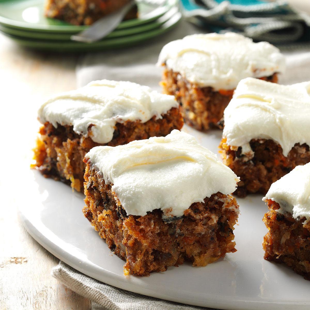 Easy Healthy Carrot Cake Recipe  Tropical Carrot Cake Recipe