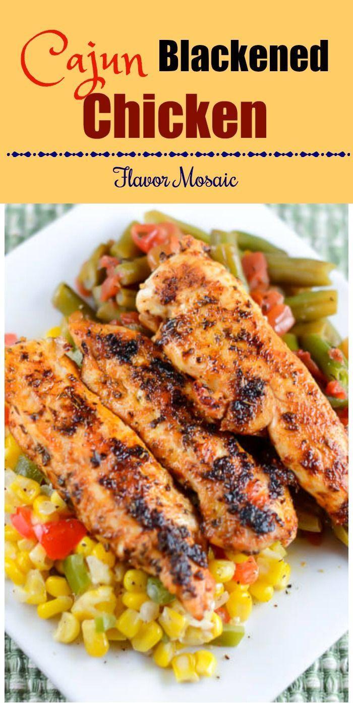 Easy Healthy Chicken Dinner Recipe  100 Cajun chicken recipes on Pinterest