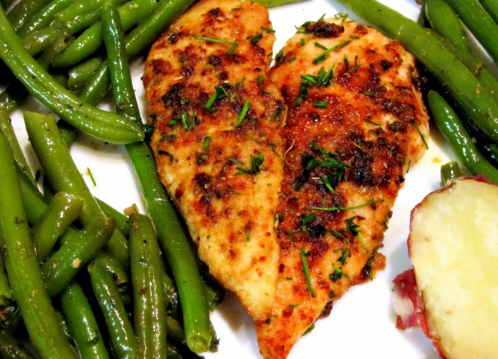 Easy Healthy Chicken Dinner Recipes  Magpie s Recipes Today s dinner Easy Baked Chicken