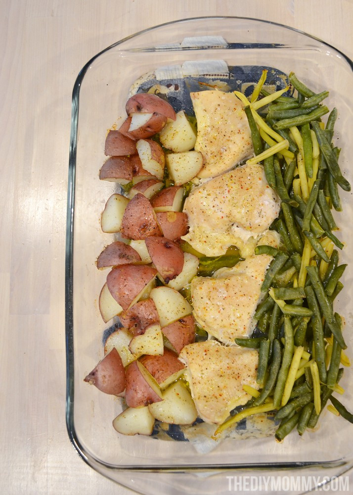 Easy Healthy Chicken Dinners  Make an Easy Healthy Chicken Dinner in e Casserole Dish