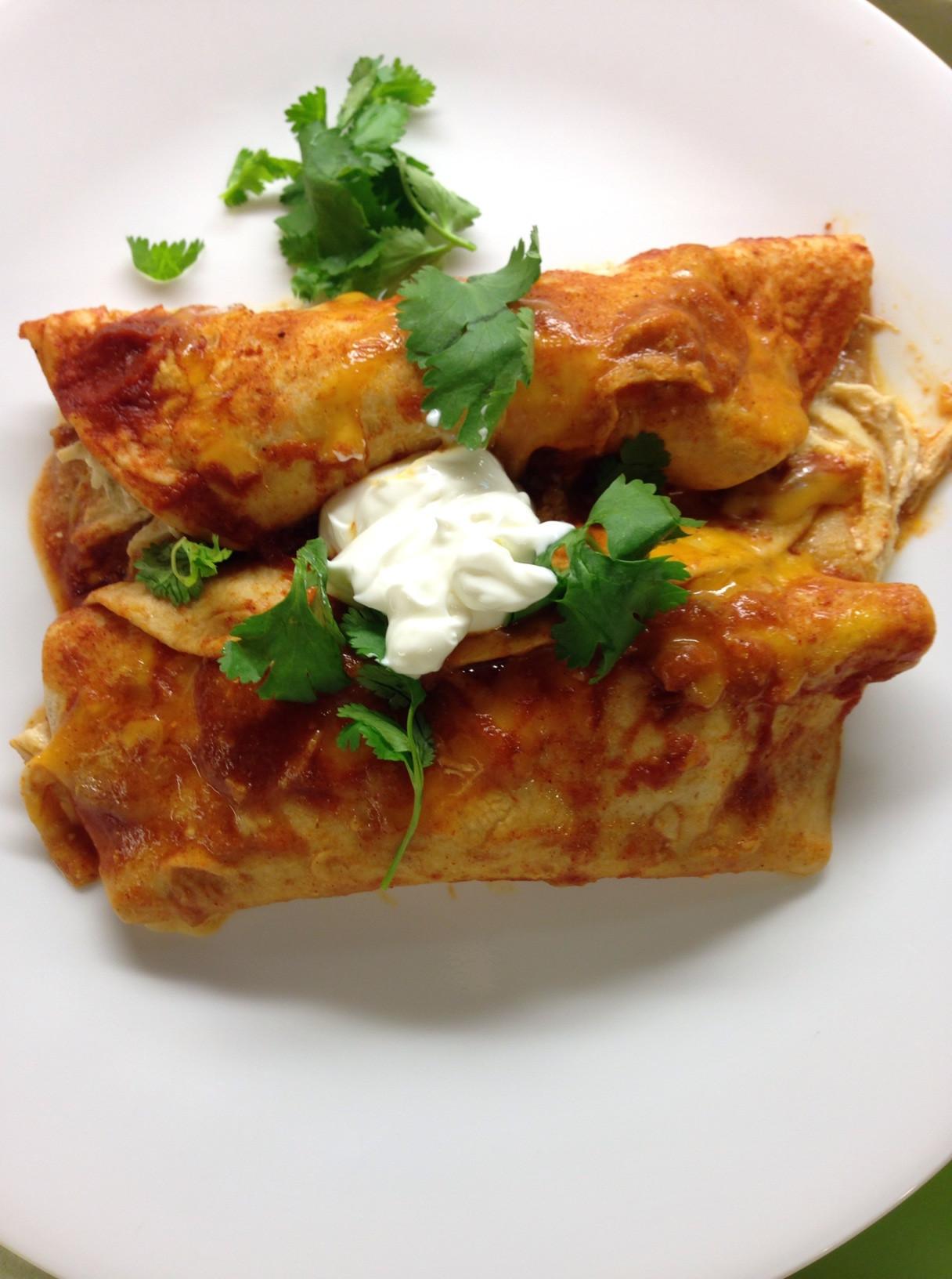 Easy Healthy Chicken Enchiladas  Easy Chicken Enchiladas Mrs Criddles Kitchen
