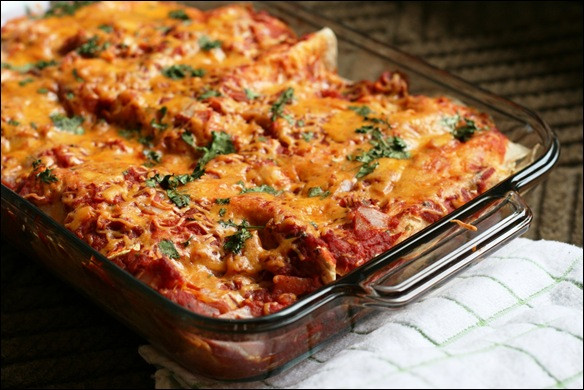 Easy Healthy Chicken Enchiladas  Whet Your Appetite Wednesday 15 Healthy Chicken Recipe