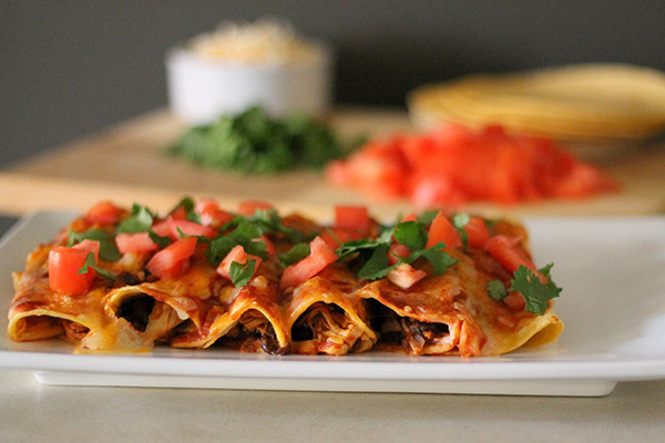Easy Healthy Chicken Enchiladas  Quick and Healthy Chicken Enchiladas Recipe Home Cooking