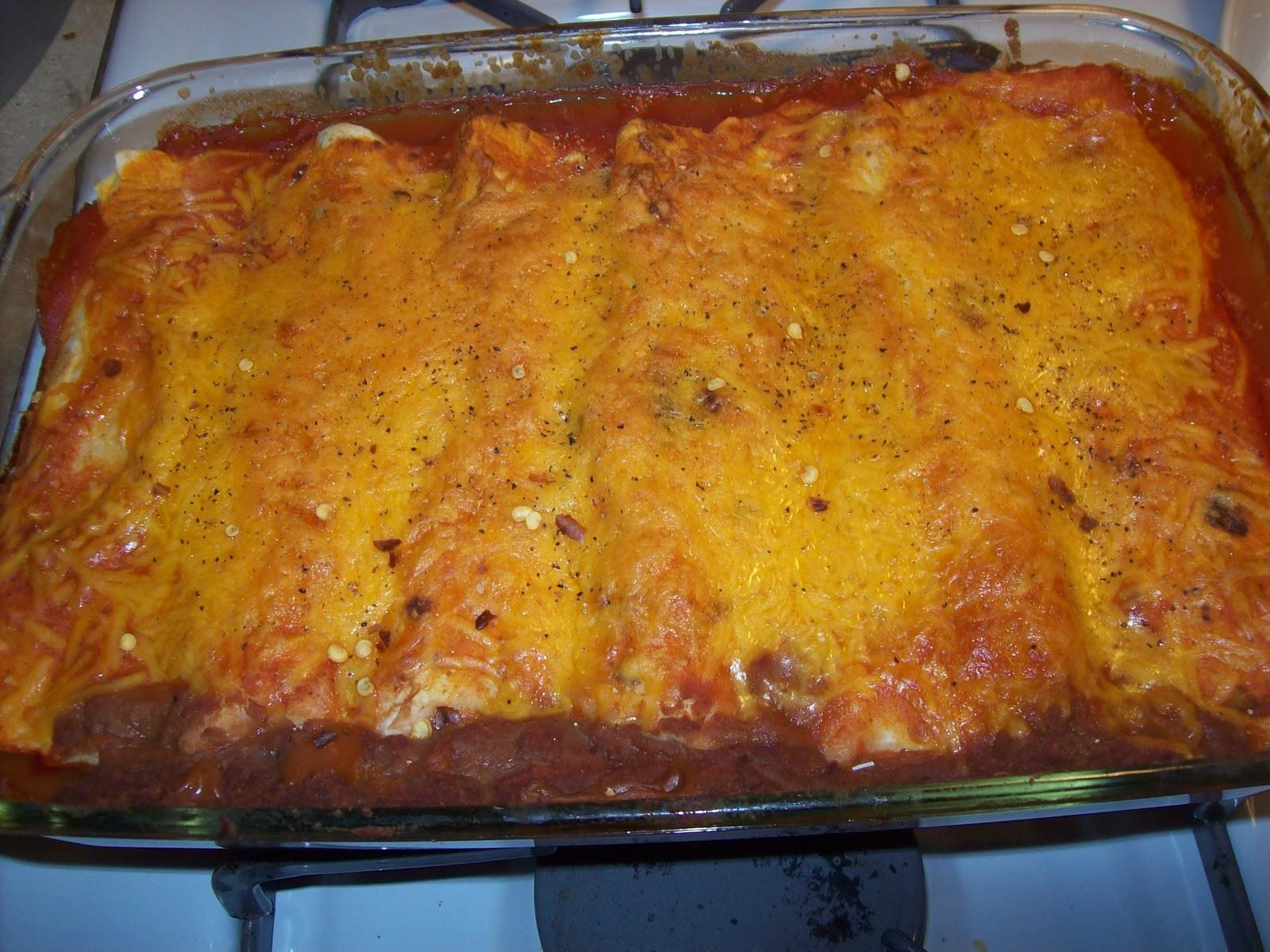 Easy Healthy Chicken Enchiladas  Easy & Healthy Chicken Enchiladas