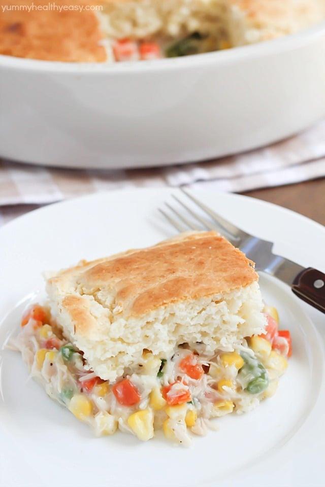 Easy Healthy Chicken Pot Pie  Easy Chicken Pot Pie Recipe Yummy Healthy Easy