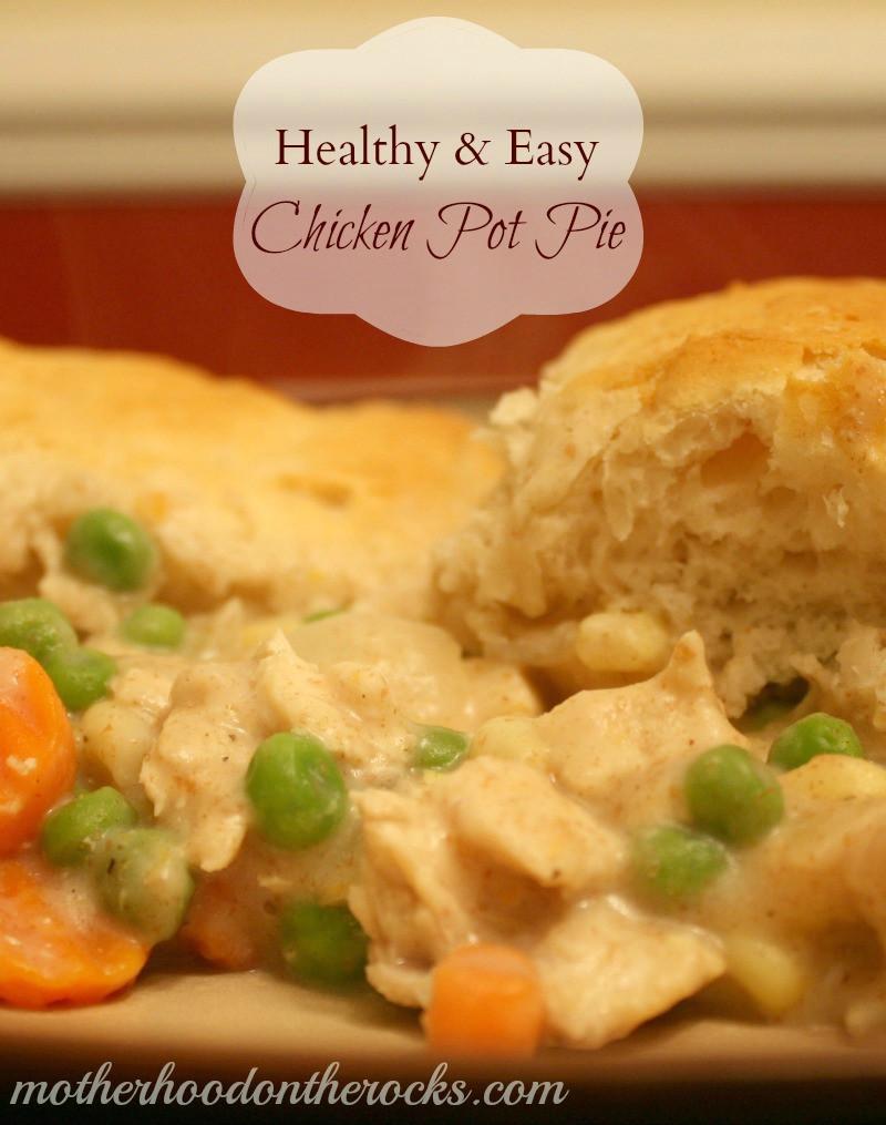 Easy Healthy Chicken Pot Pie  Healthy & Easy Chicken Pot Pie Recipe Motherhood on the