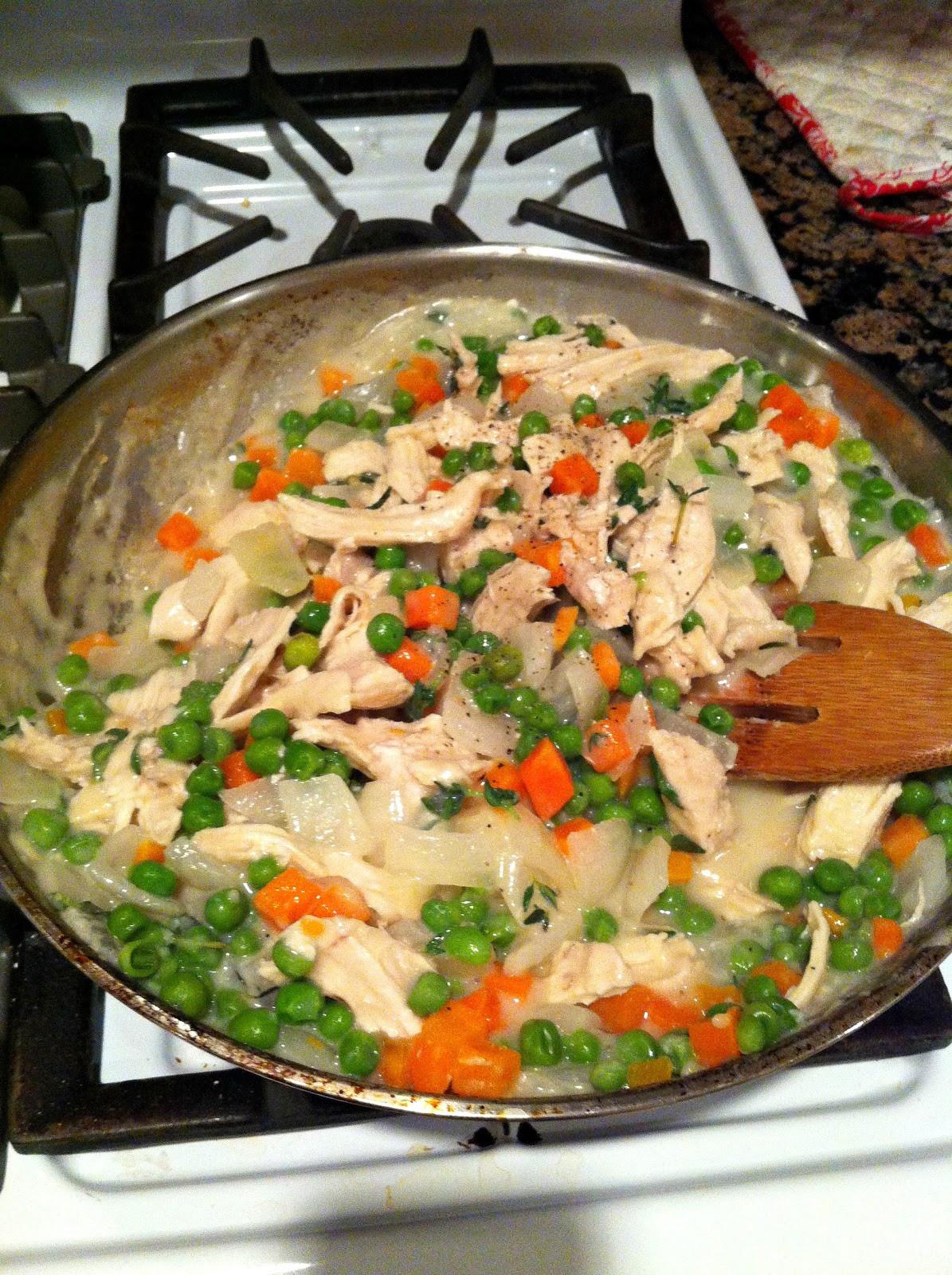 Easy Healthy Chicken Pot Pie  Ten June Healthy Dairy Free Chicken Pot Pie Recipe