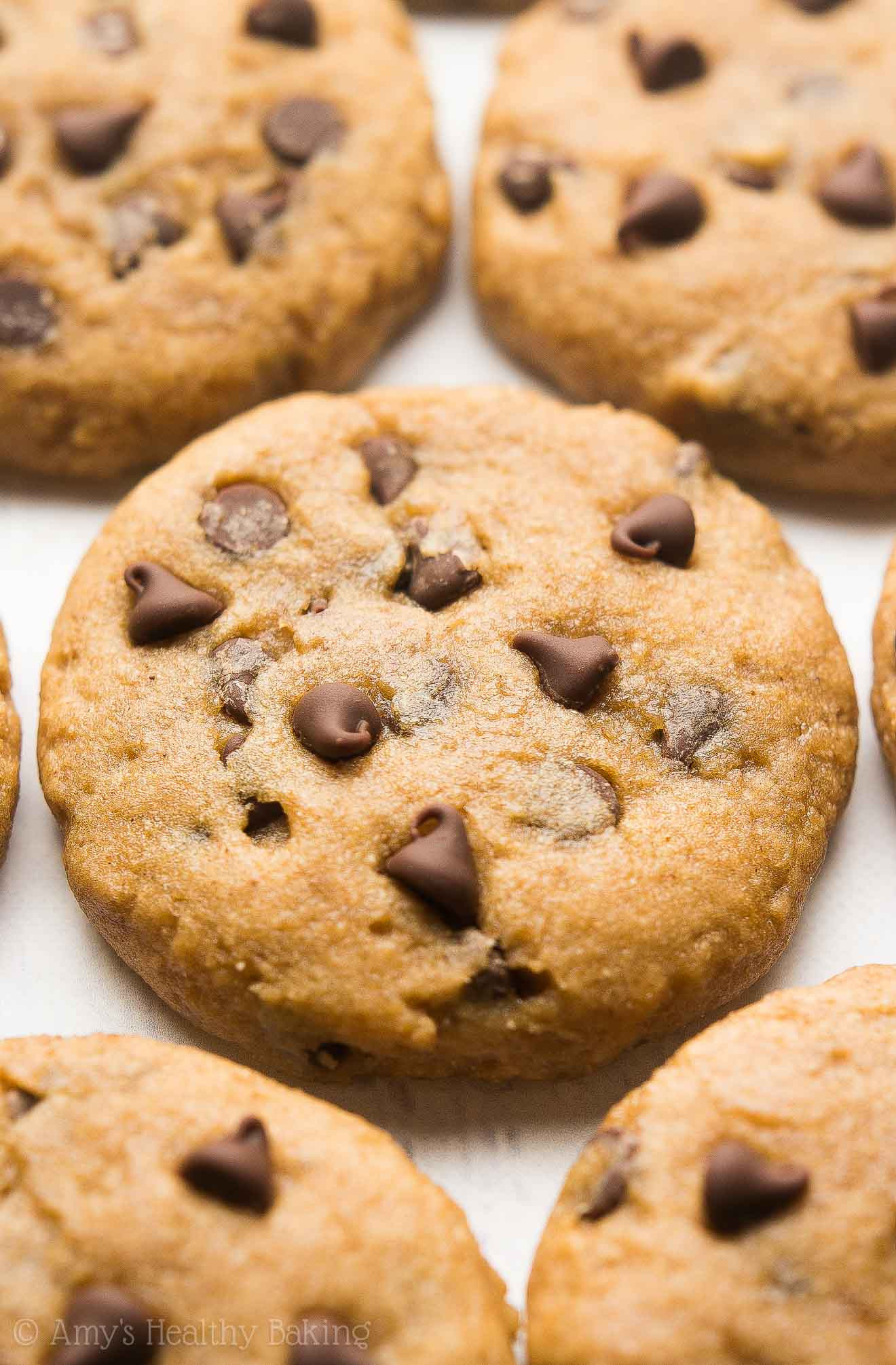 Easy Healthy Chocolate Chip Cookies  Healthy Banana Chocolate Chip Cookies Recipe Video