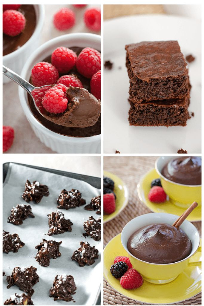 Easy Healthy Chocolate Desserts  17 Best images about Valentine s Day on Pinterest