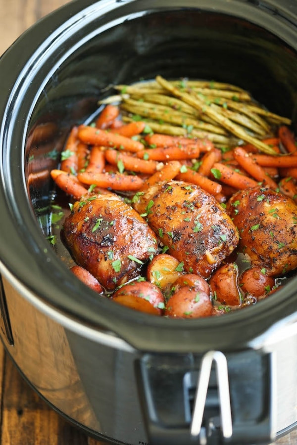 Easy Healthy Crockpot Dinners  15 Easy Slow Cooker Chicken Recipes thegoodstuff