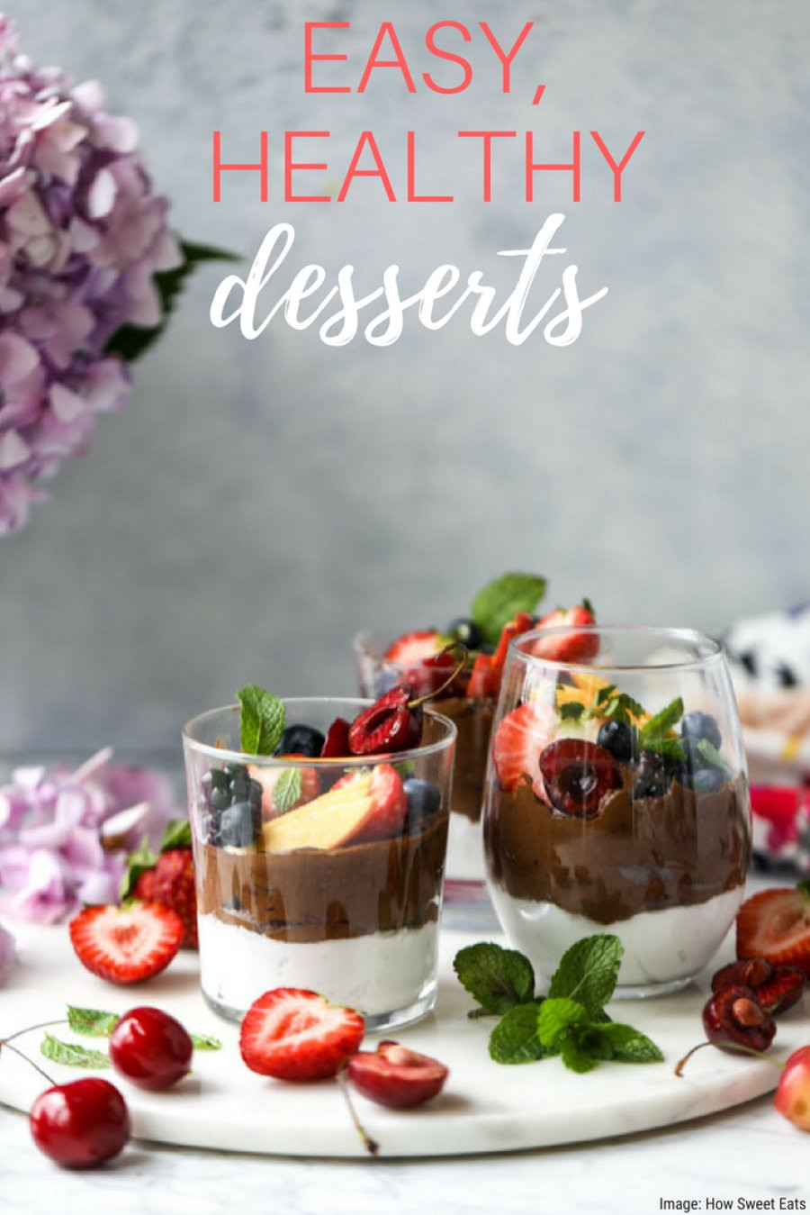 Easy Healthy Dessert  7 Easy Healthy Desserts To Satisfy Your Sweet Tooth