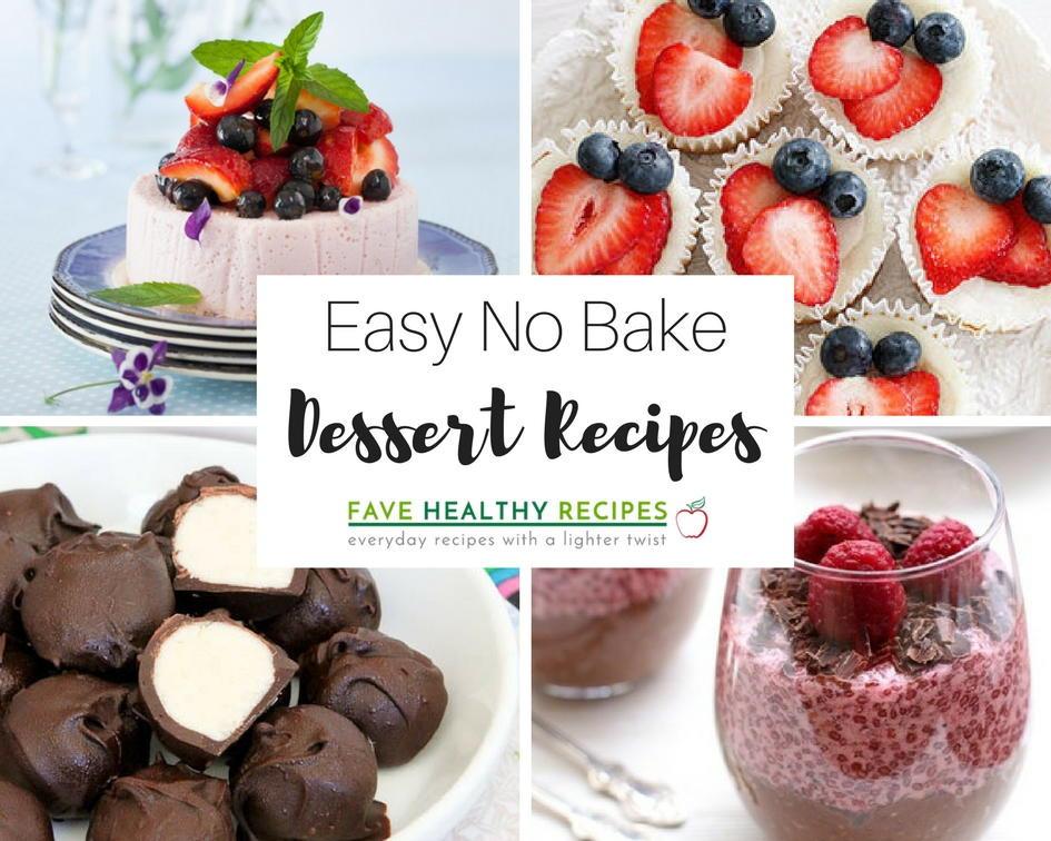 Easy Healthy Desserts No Bake  28 Easy No Bake Dessert Recipes