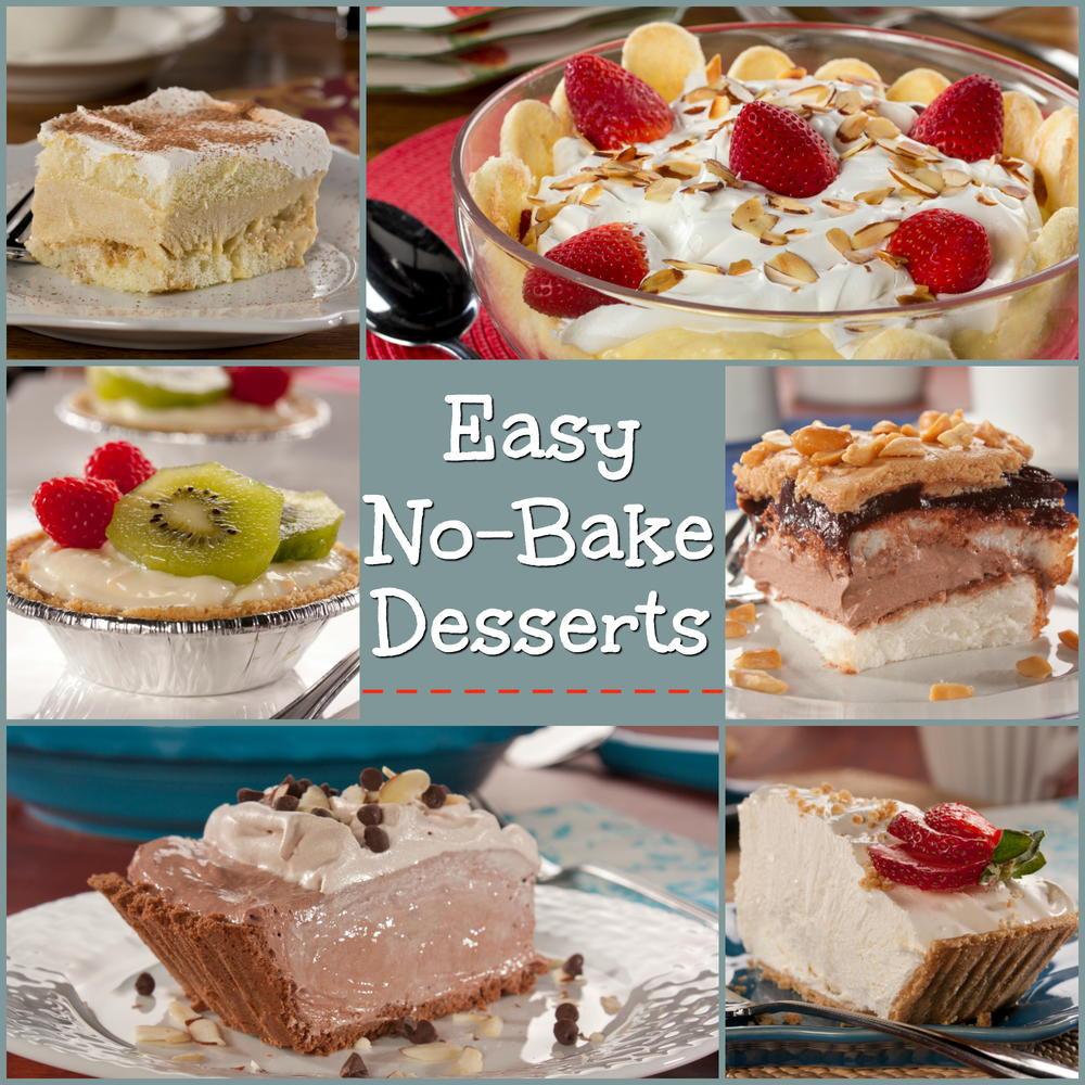 Easy Healthy Desserts No Bake  Easy No Bake Desserts