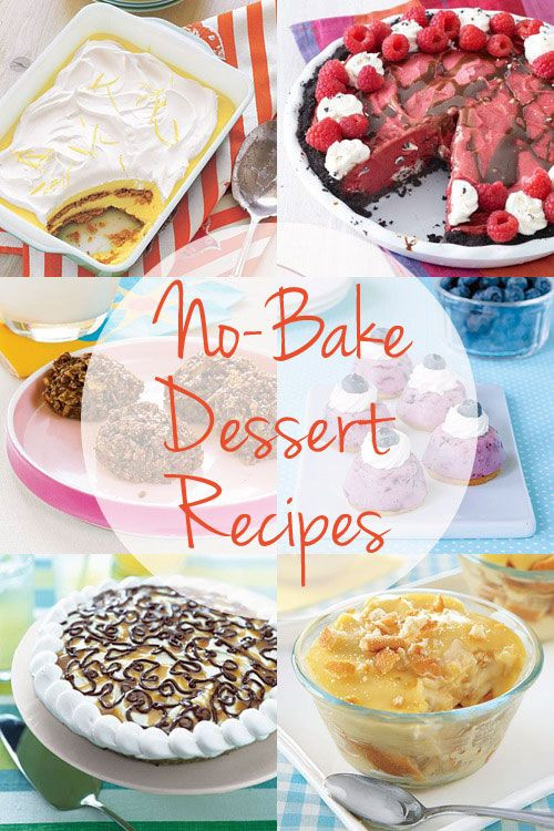 Easy Healthy Desserts No Bake  Easy No Bake Dessert Recipes