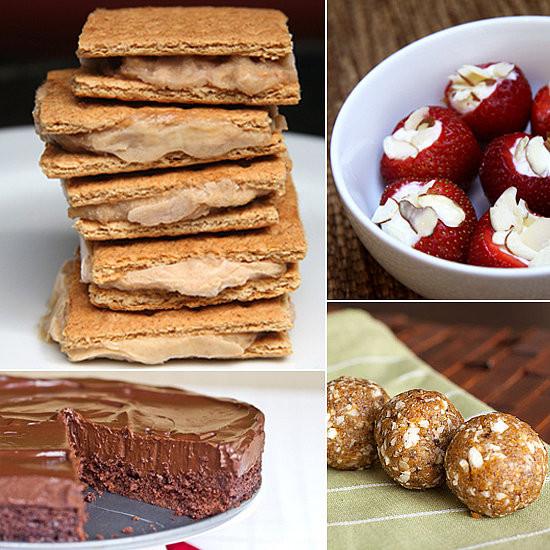 Easy Healthy Desserts No Bake  Healthy dessert baked goods apple slice recipe uk