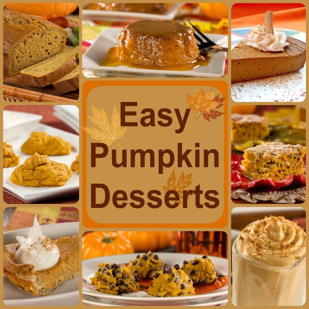 Easy Healthy Desserts Recipes  Healthy Pumpkin Recipes 8 Easy Pumpkin Desserts