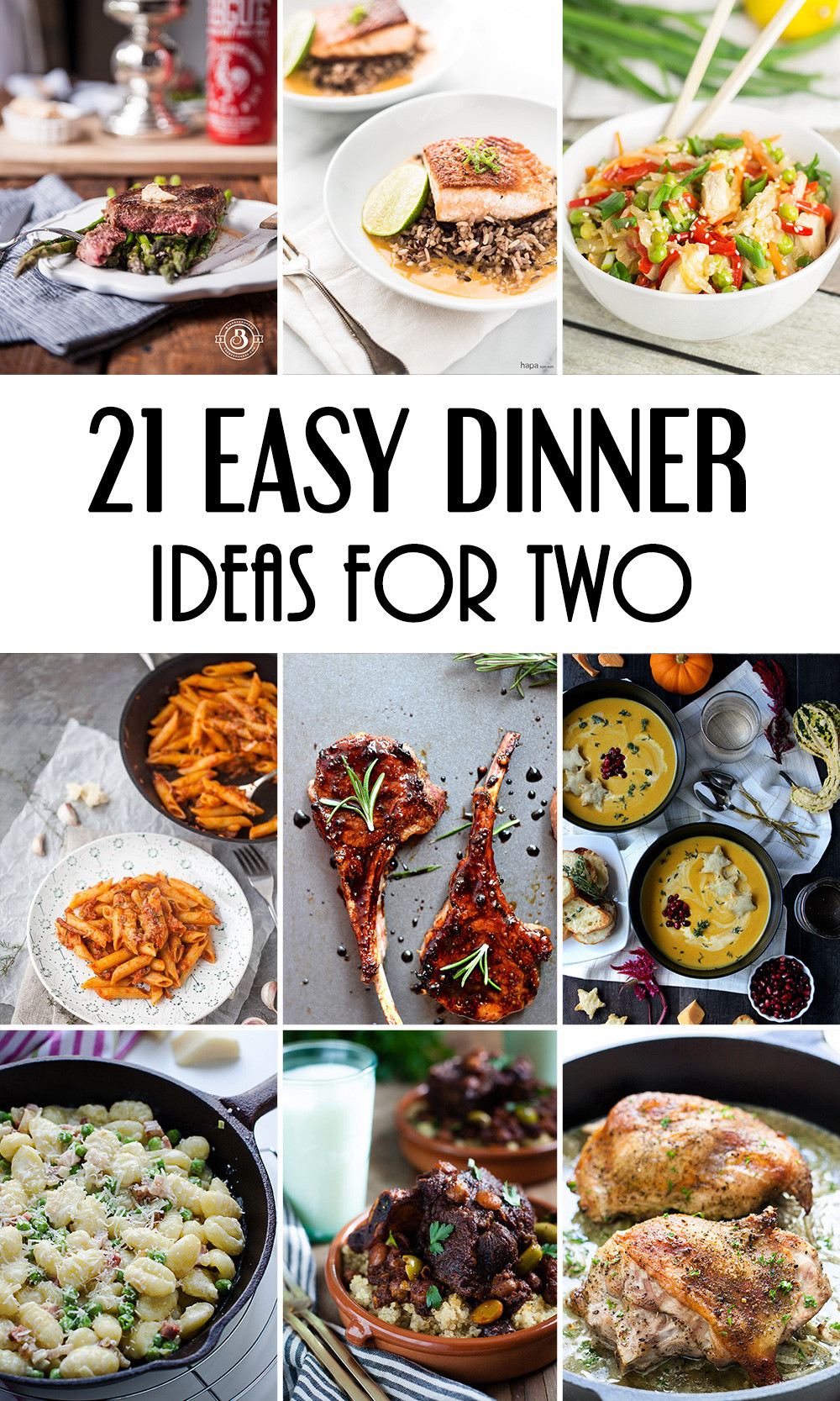 Easy Healthy Dinner Recipes For Two  21 Easy Dinner Ideas For Two That Will Impress Your Loved e