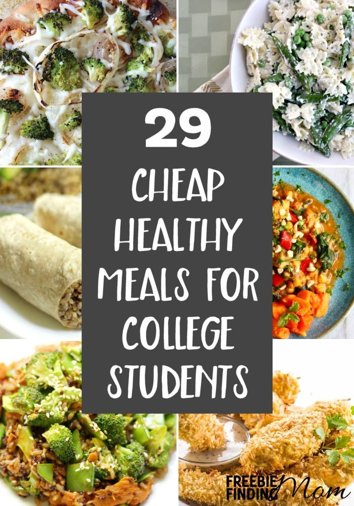 Easy Healthy Dinners For College Students  29 Cheap Healthy Meals For College Students