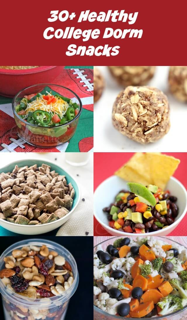 Easy Healthy Dinners For College Students  30 Easy Healthy College Dorm Room Snack Recipes