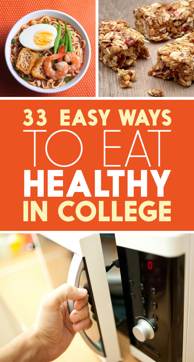 Easy Healthy Dinners For College Students  33 Healthy Eating Habits Lazy College Students Will Appreciate