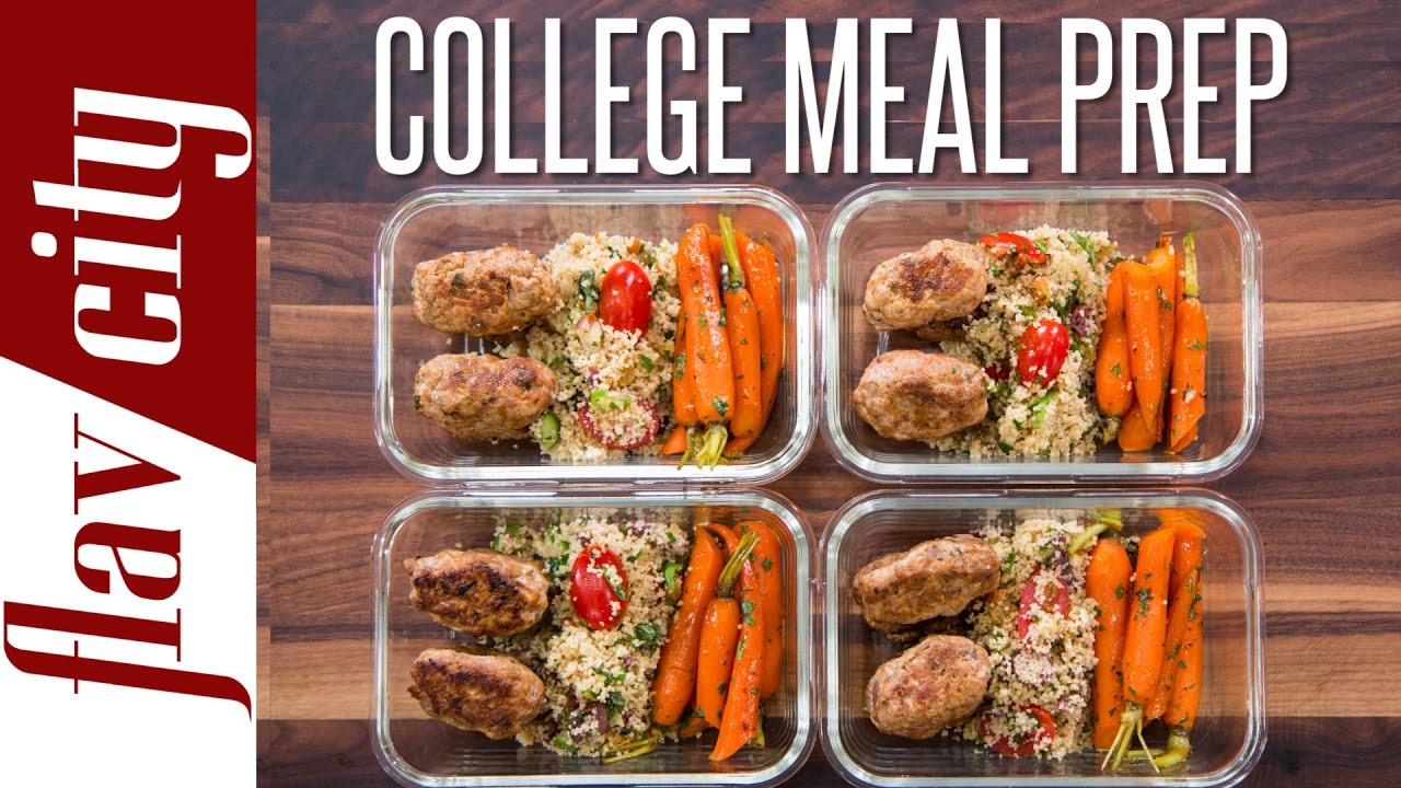 Easy Healthy Dinners For College Students  Easy Meal Prep For College Students – Healthy Meal Prep