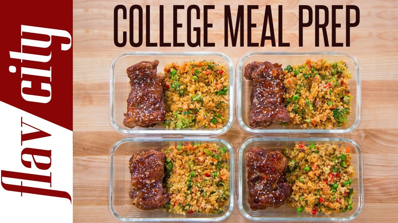 Easy Healthy Dinners For College Students  Meal Prep For A College Student – Meal Prepping