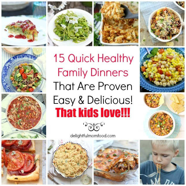 Easy Healthy Dinners For Family  15 Healthy Dinner Recipes Delicious and Easy