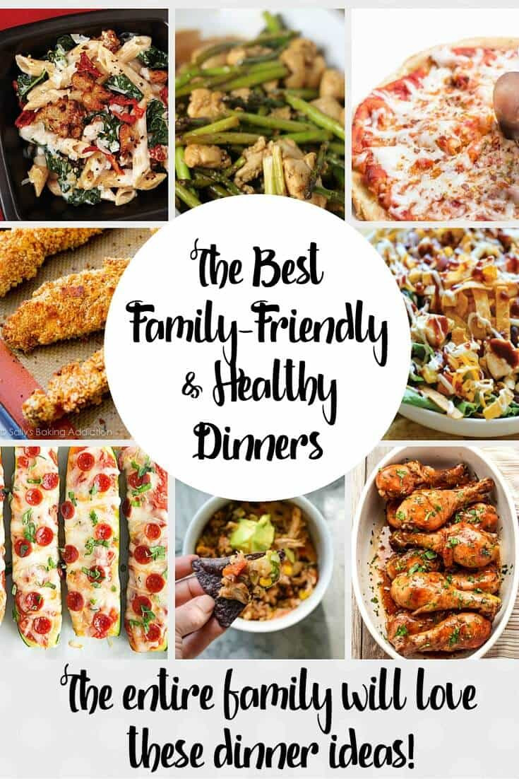 Easy Healthy Dinners For Family  The Best Healthy Family Friendly Recipes Around Princess