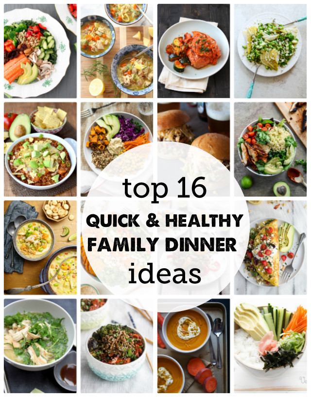 Easy Healthy Dinners For Family  16 Fresh Dinner Recipes for a Healthy New Year Modern
