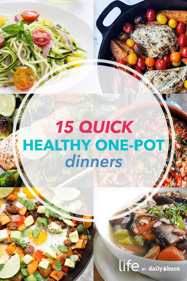 Easy Healthy Dinners For One  15 e Pot Meals for Quick Healthy Dinners
