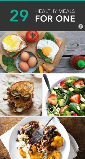 Easy Healthy Dinners For One  10 Healthy Meals You Can Make in Under 10 Minutes im
