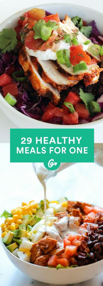 Easy Healthy Dinners For One  Cooking for e 25 Insanely Easy Healthy Meals You Can