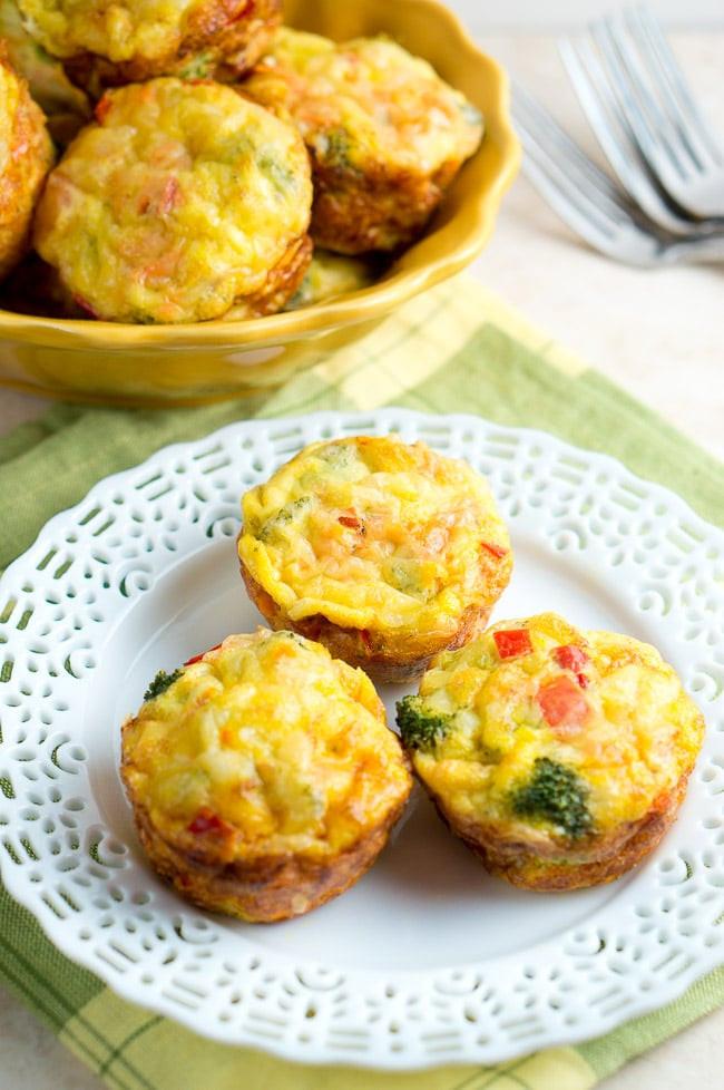 Easy Healthy Egg Breakfast  Easy Breakfast Egg Muffins