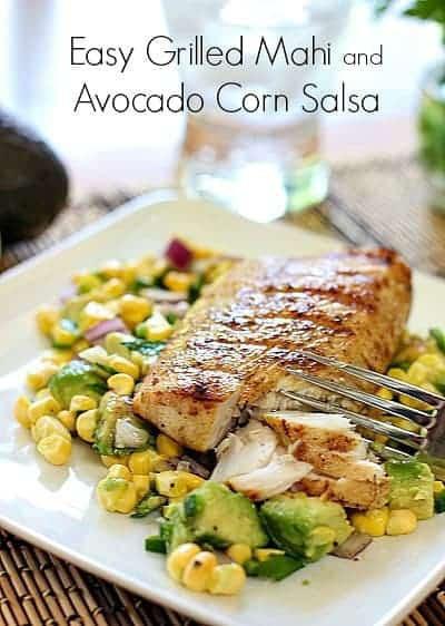 Easy Healthy Fish Recipes  Easy Grilled Mahi and Avocado Salsa