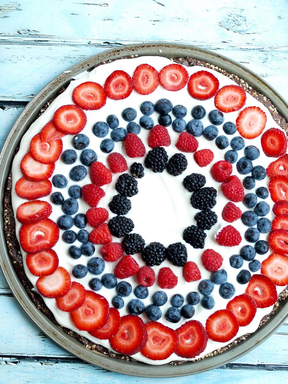 Easy Healthy Fruit Desserts  Easy & Healthy Fruit Dessert Pizza Happy Healthy Mama