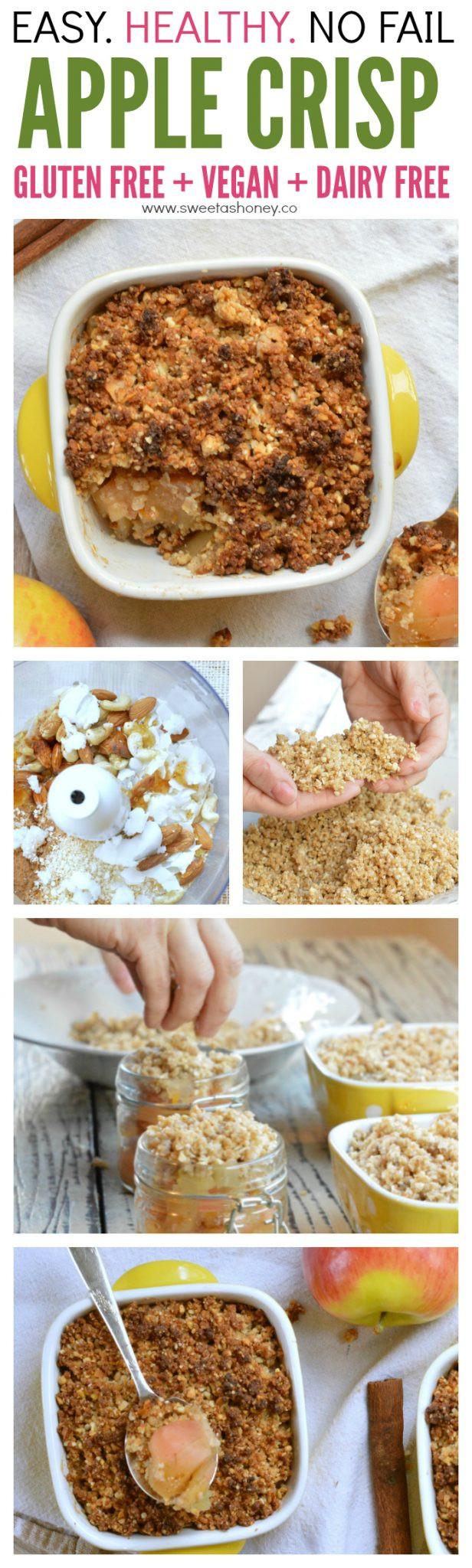 Easy Healthy Gluten Free Recipes  Gluten free Apple crisp recipe