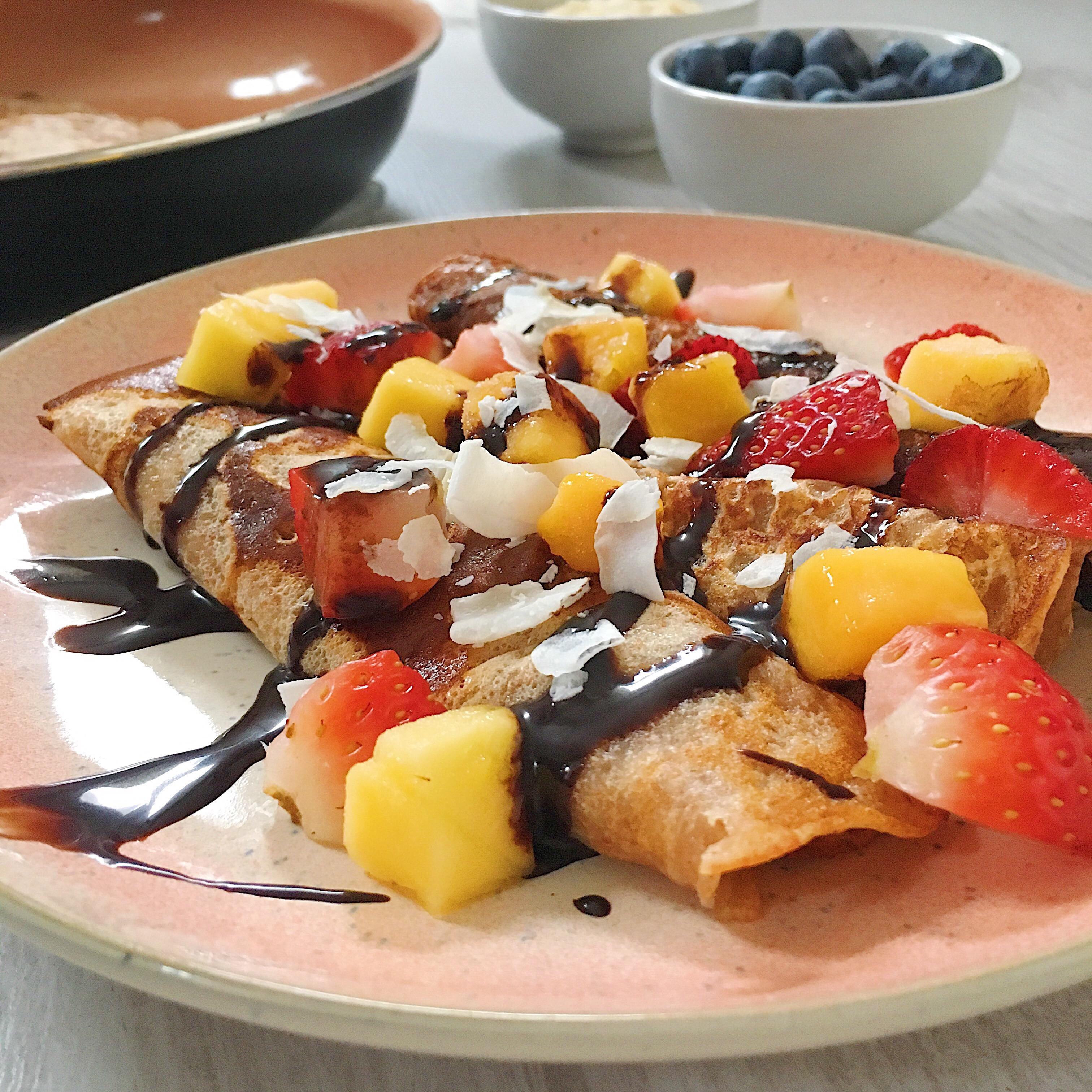 Easy Healthy Gluten Free Recipes  Easy Healthy Crepe Recipe Vegan Gluten Free