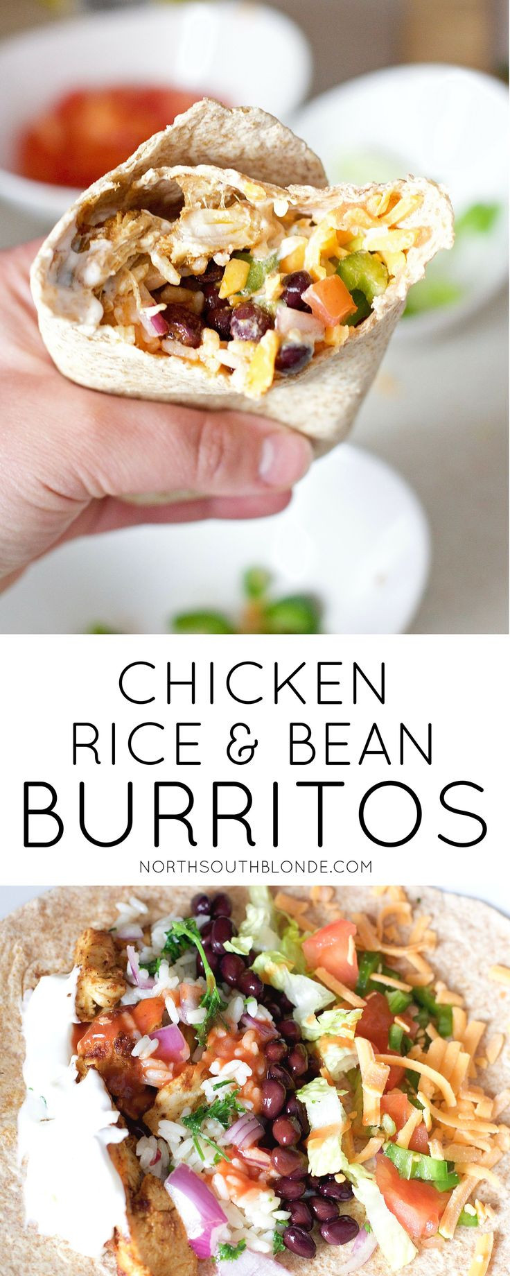 Easy Healthy Gluten Free Recipes  Best 25 Burrito recipes ideas only on Pinterest