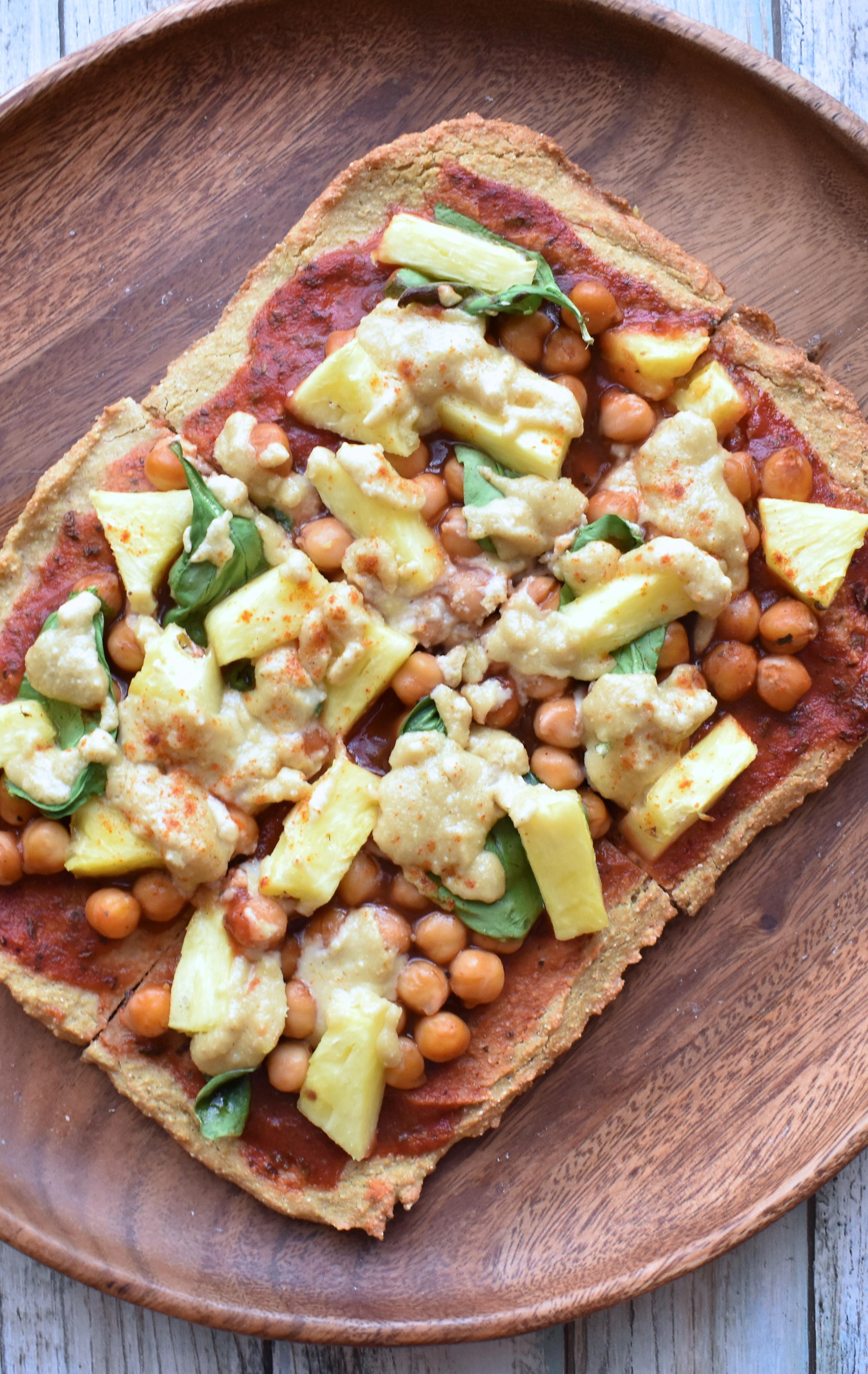 Easy Healthy Gluten Free Recipes  Easy & Healthy Pizza Crust Recipe Gluten Free & Vegan