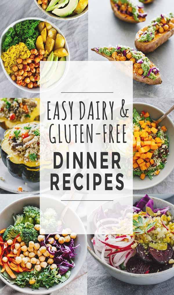 Easy Healthy Gluten Free Recipes  Easy Dairy & Gluten Free Dinner Recipes Jar Lemons