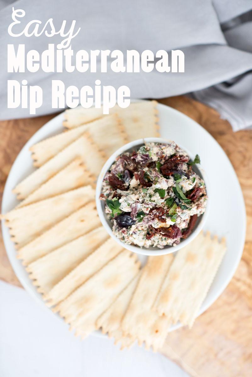 Easy Healthy Gluten Free Recipes  Easy Mediterranean Dip Appetizer A Side of Sweet