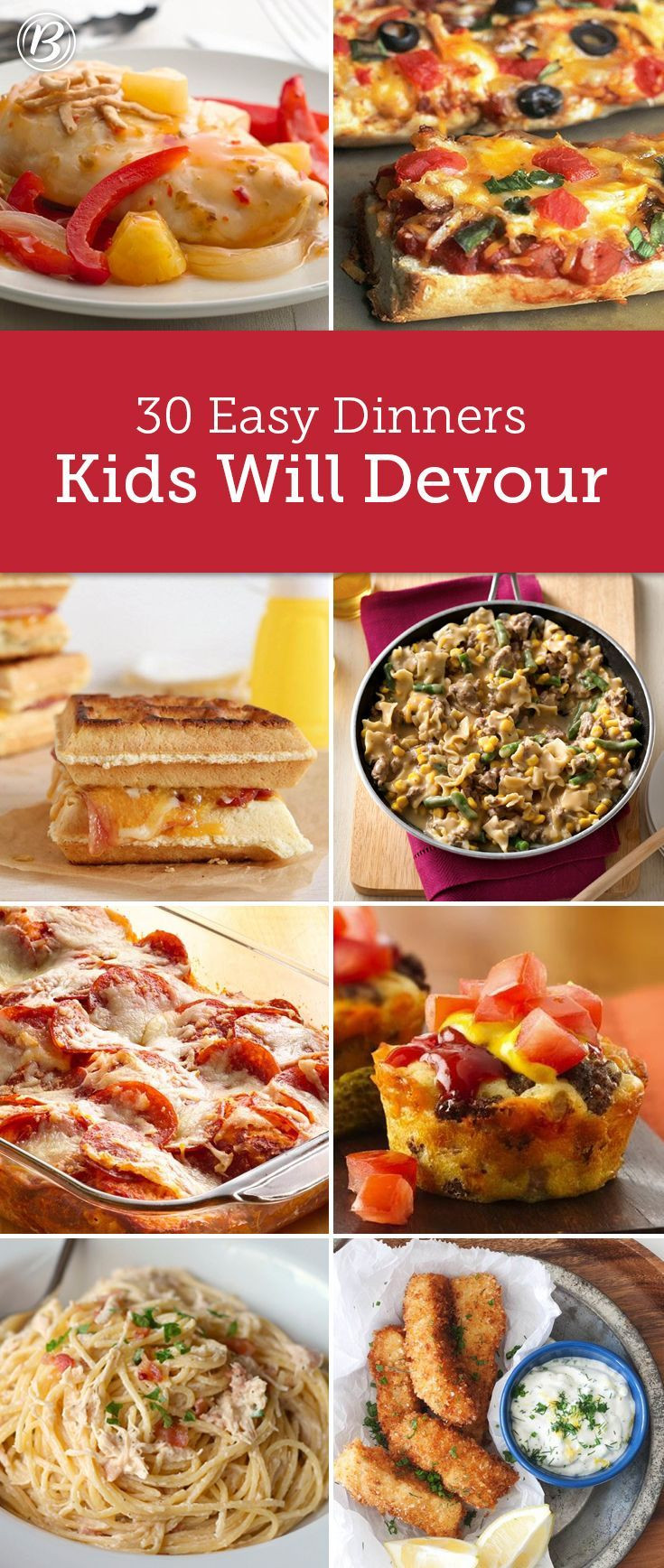 Easy Healthy Kid Friendly Dinner Recipes  25 Best Ideas about Picky Eater Meals on Pinterest