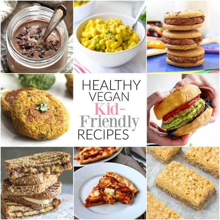 Easy Healthy Kid Friendly Recipes  Kid Friendly Vegan Recipes