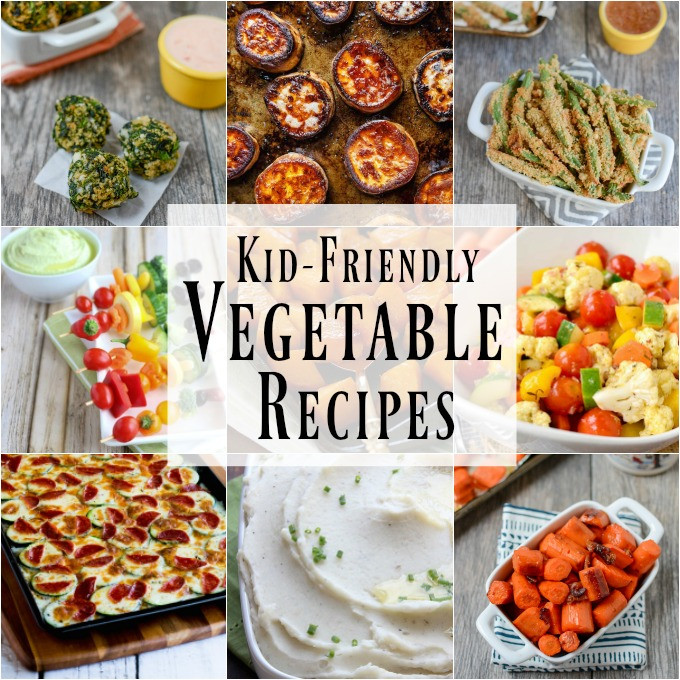 Easy Healthy Kid Recipes  10 Kid Friendly Ve able Recipes