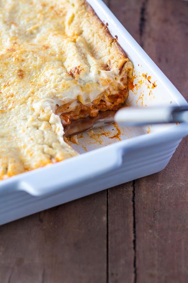 Easy Healthy Lasagna Recipe  Healthy Lasagna Recipe